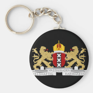 Coat of arms of Amsterdam Key Ring