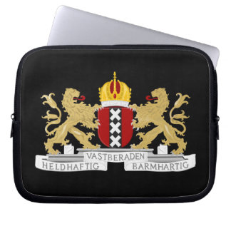 Coat of arms of Amsterdam Laptop Sleeves