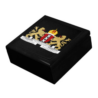 Coat of arms of Amsterdam Large Square Gift Box