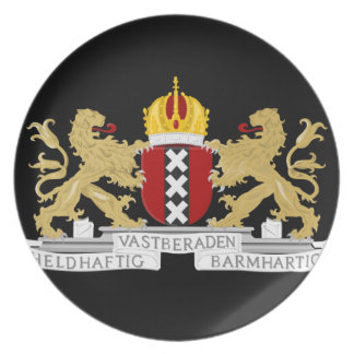 Coat of arms of Amsterdam Plate