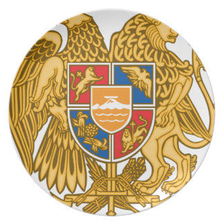 Coat of arms of Armenia - Armenian Emblem Dinner Plates