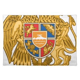 Coat of arms of Armenia - Armenian Emblem Placemat
