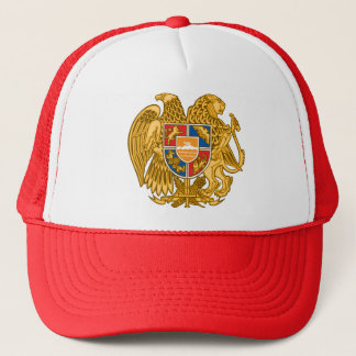 Coat of arms of Armenia - Armenian Emblem Trucker Hat