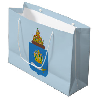 Coat of arms of Astrakhan oblast Large Gift Bag