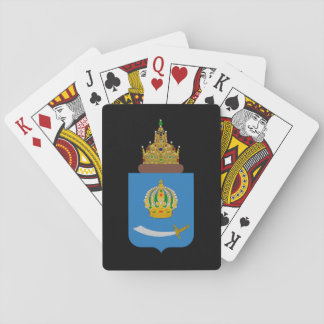 Coat of arms of Astrakhan oblast Playing Cards