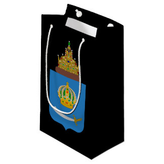 Coat of arms of Astrakhan oblast Small Gift Bag