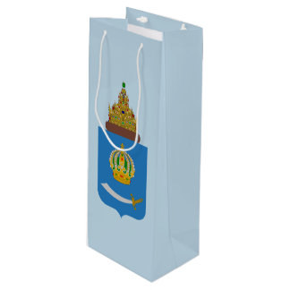 Coat of arms of Astrakhan oblast Wine Gift Bag