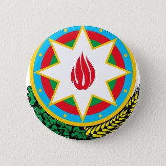 Coat of Arms of Azerbaijan - Азәрбајҹан герби 6 Cm Round Badge