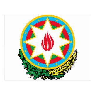 Coat of Arms of Azerbaijan - Азәрбајҹан герби Postcard