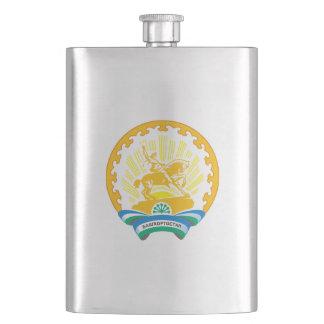 Coat of arms of Bashkortostan Hip Flask