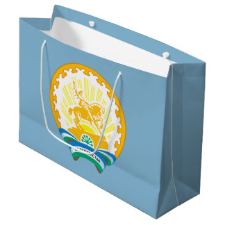 Coat of arms of Bashkortostan Large Gift Bag
