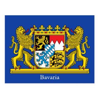 Coat of Arms of Bavaria Postcard