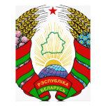 Coat of arms of Belarus Flyer Design