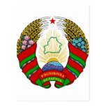 Coat of arms of Belarus Post Cards
