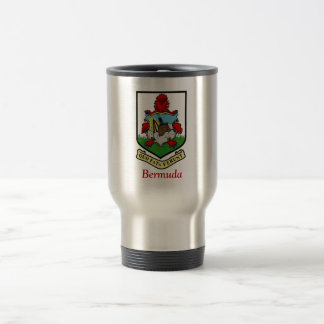 Coat of Arms of Bermuda Travel Mug