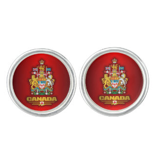 Coat of Arms of Canada Cuff Links