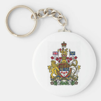 Coat of Arms of Canada Key Ring
