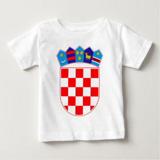 Coat of arms of Croatia, Croatian Emblem, Hrvatska Baby T-Shirt