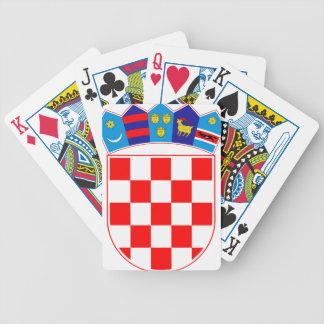 Coat of arms of Croatia, Croatian Emblem, Hrvatska Bicycle Playing Cards
