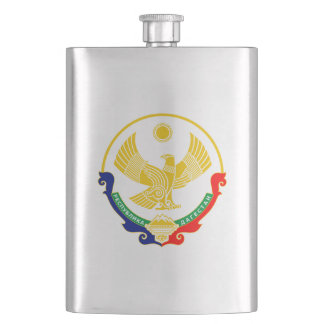Coat of arms of Dagestan Hip Flask