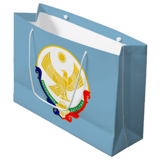 Coat of arms of Dagestan Large Gift Bag