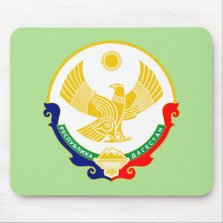 Coat of arms of Dagestan Mouse Pad