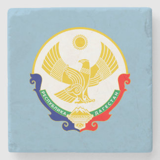 Coat of arms of Dagestan Stone Coaster