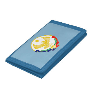 Coat of arms of Dagestan Tri-fold Wallet