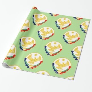 Coat of arms of Dagestan Wrapping Paper
