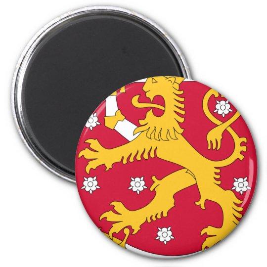 Coat of Arms of Finland - Suomen Vaakuna 6 Cm Round Magnet