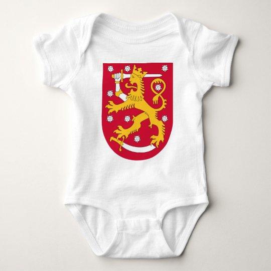 Coat of Arms of Finland - Suomen Vaakuna Baby Bodysuit