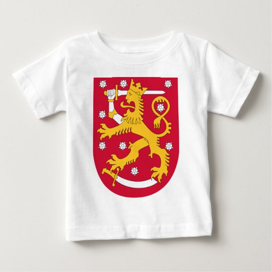 Coat of Arms of Finland - Suomen Vaakuna Baby T-Shirt