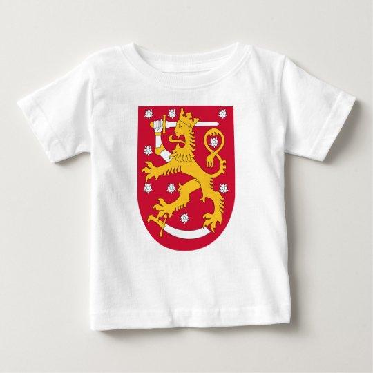 Coat of Arms of Finland - Suomen Vaakuna Baby T-Shirt
