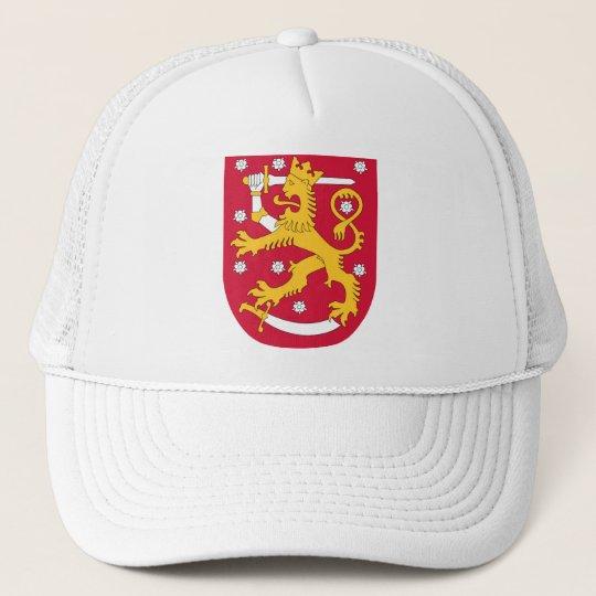 Coat of Arms of Finland - Suomen Vaakuna Cap