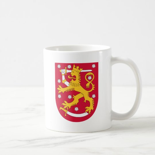 Coat of Arms of Finland - Suomen Vaakuna Coffee Mug