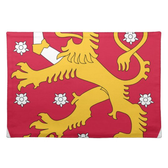 Coat of Arms of Finland - Suomen Vaakuna Place Mats