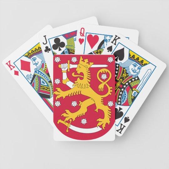 Coat of Arms of Finland - Suomen Vaakuna Poker Deck