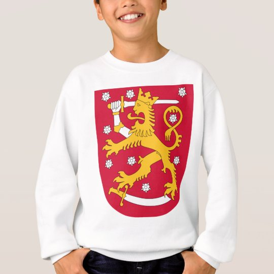 Coat of Arms of Finland - Suomen Vaakuna Sweatshirt
