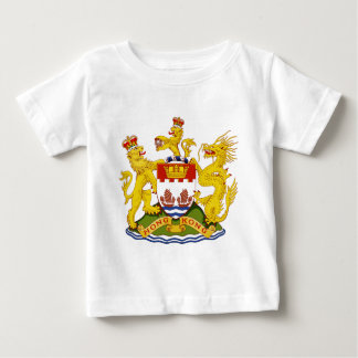 Coat_of_arms_of_Hong_Kong_(1959-1997) Baby T-Shirt