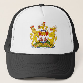 Coat_of_arms_of_Hong_Kong_(1959-1997) Trucker Hat