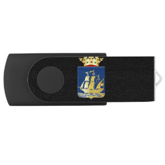 Coat of arms of IJlst Swivel USB 3.0 Flash Drive