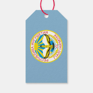 Coat of arms of Ingushetia Gift Tags
