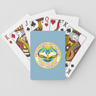 Coat of arms of Ingushetia Playing Cards
