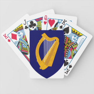 Coat of arms of Ireland - Irish Emblem Bicycle Playing Cards