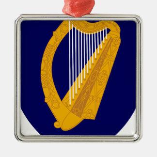 Coat of arms of Ireland - Irish Emblem Metal Ornament