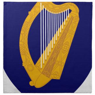 Coat of arms of Ireland - Irish Emblem Napkin