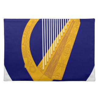 Coat of arms of Ireland - Irish Emblem Placemat