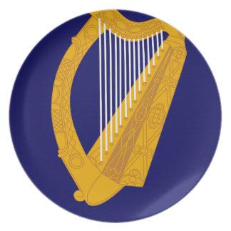 Coat of arms of Ireland - Irish Emblem Plate