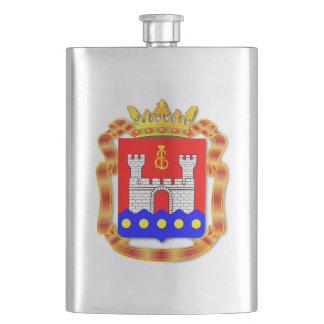 Coat of arms of Kaliningrad oblast Hip Flask