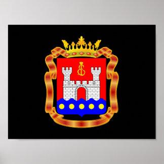 Coat of arms of Kaliningrad oblast Poster